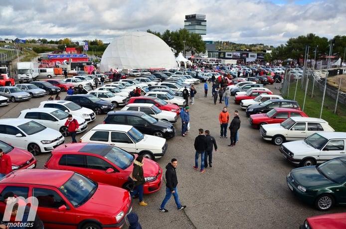 GTI Day, el Volkswagen Golf GTI celebra su 40º cumpleaños en el circuito del Jarama