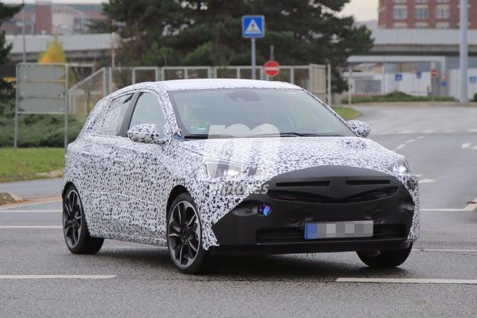 Opel Corsa 2019: un vistazo a la próxima generación durante una de sus pruebas