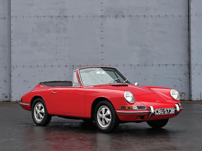A la venta el único Porsche 911 Cabriolet existente de la generación 901