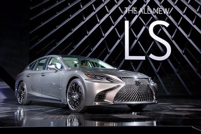 Lexus LS 2018: El nuevo buque insignia que detecta y esquiva peatones por sí solo