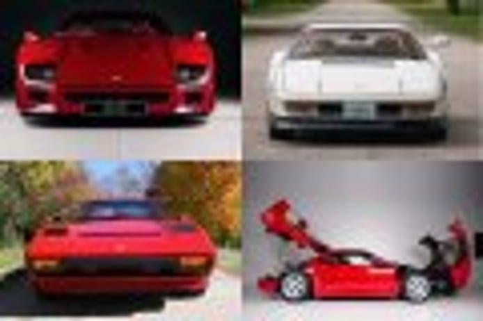 Ferraris célebres en venta: Desde el F40 de Eric Clapton hasta el Testarossa de Miami Vice