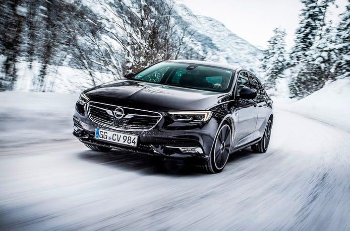 Opel Insignia Grand Sport y su sistema de tracción 4x4 con reparto vectorial del par
