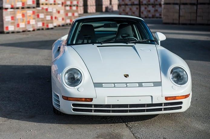 Un raro Porsche 959 Sport encabeza la venta de una colección de 42 Porsche clásicos