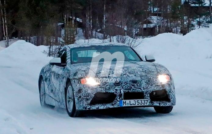 Toyota Supra 2018: Continúa su desarrollo en la nieve