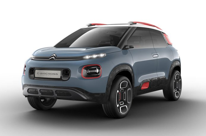 Citroën C-Aircross concept: Adelantando el futuro crossover de Citroën