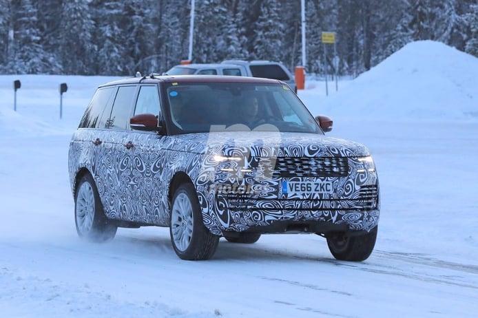 Range Rover PHEV: las primeras fotos de la futura versión híbrida