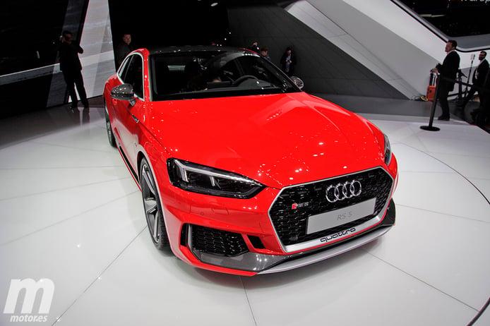 Audi RS5 2017: 450 CV y 600 Nm para el Gran Turismo de la familia RS