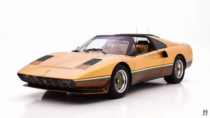 El Ferrari 308 GTS del creador del Batmobile esconde un diseño adelantado a su época