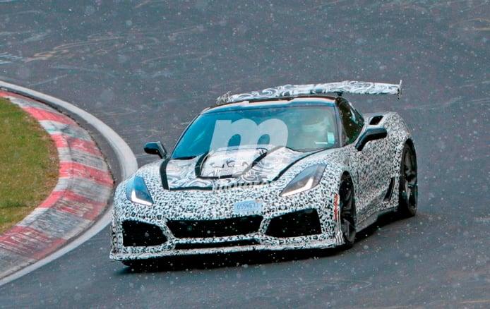 Corvette ZR1 2018 a fondo en Nürburgring: todas las fotos y vídeos