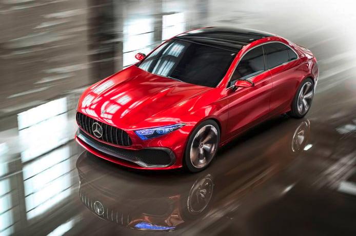 Mercedes Concept A Sedan: primeras imágenes del nuevo Clase A sedán conceptual