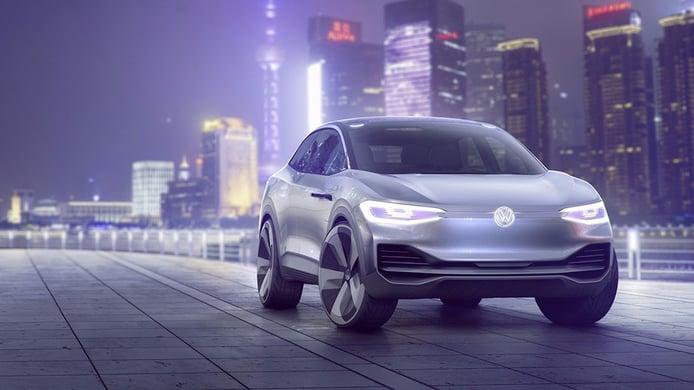 Volkswagen I.D. Crozz Concept: 306 CV y hasta 500 km de autonomía