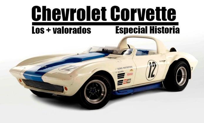 Los Chevrolet Corvette más caros y valorados hasta la fecha