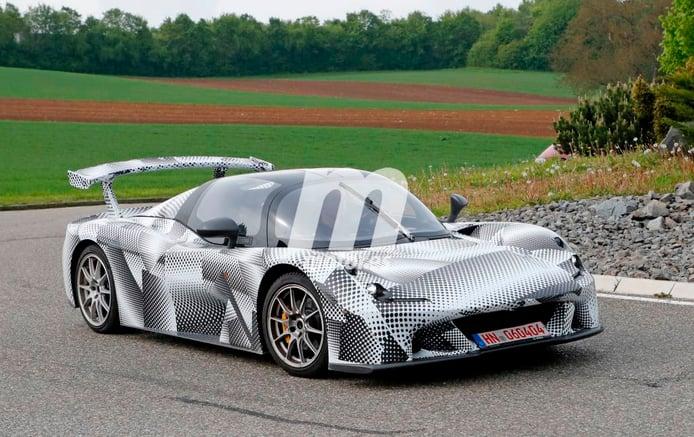 Dallara sigue dando forma a su nuevo deportivo de calle