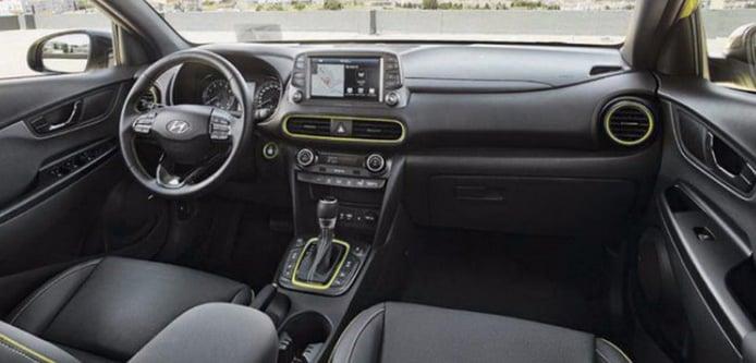Hyundai Kona 2018: una nueva filtración nos descubre su interior