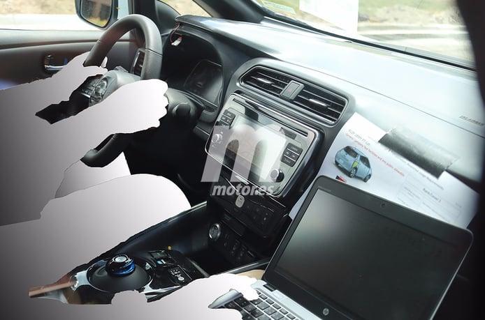 Nissan Leaf 2018: nos asomamos por primera vez a su interior