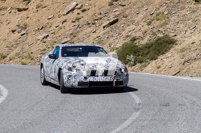 BMW Serie 8 2019: fotografiado una vez más el esperado coupé de lujo