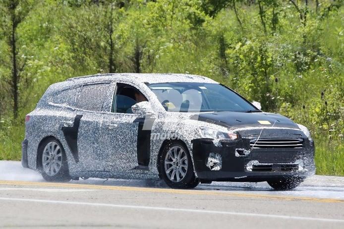 Ford Focus SportBreak: las primeras imágenes de la nueva versión familiar