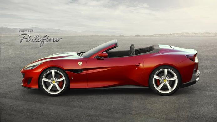 Ferrari Portofino 2018: el sucesor del California T llega con 600 CV