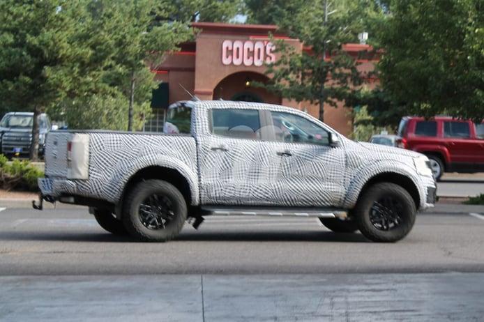 Ford Ranger Raptor: nuevo avistamiento confirma la versión y el motor diésel