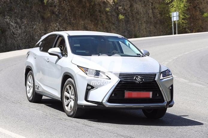 Fotografiado el Lexus RX 2018: la necesaria puesta a punto está más cerca