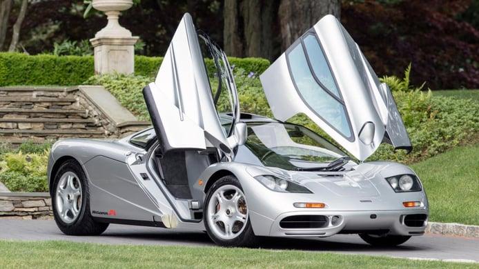 Nuevo récord: este es el McLaren F1 más caro de la historia