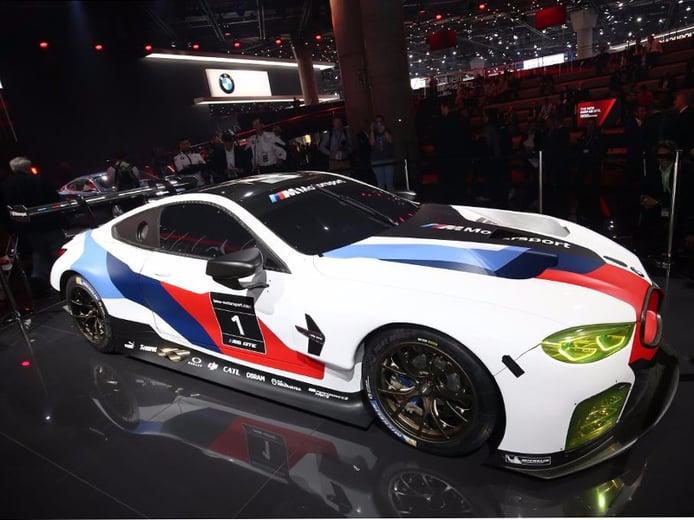 El BMW M8 GTE ve la luz en el Salón de Frankfurt