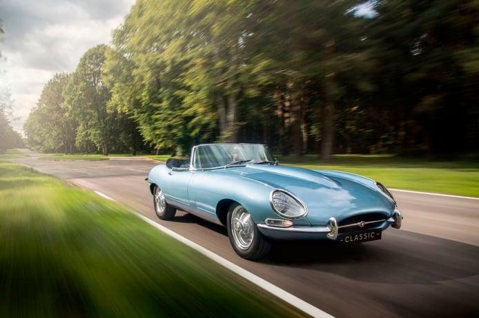 Jaguar E-Type Zero: el E-Type más rápido y ligero es eléctrico