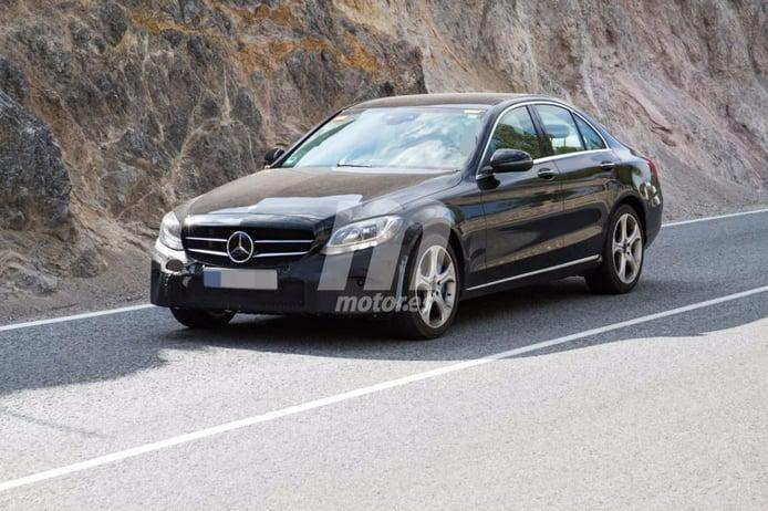 Mercedes Clase C 350e: cazamos la nueva versión plug-in hybrid