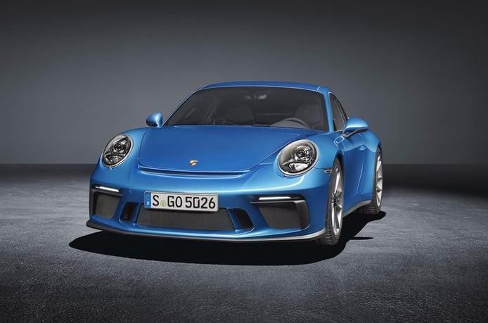 Porsche 911 GT3 Touring Package: manual y 500 CV para un cóctel perfecto