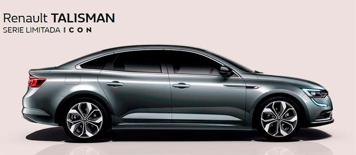 La gama del Renault Talisman estrena la serie especial ICON