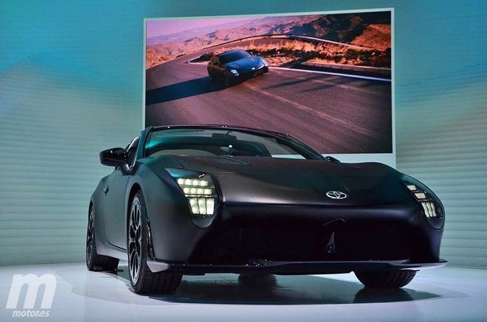 Así es el Toyota GR HV Sports Concept en riguroso directo