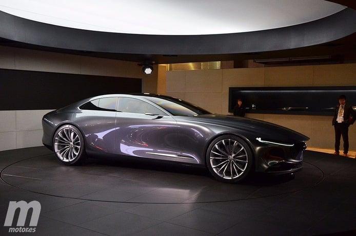 Mazda Vision Coupe Concept: el RX Vision evoluciona a sedán deportivo