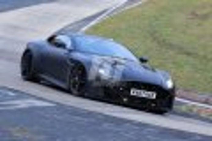 Misteriosa mula de Aston Martin parece adelantar el nuevo Vanquish