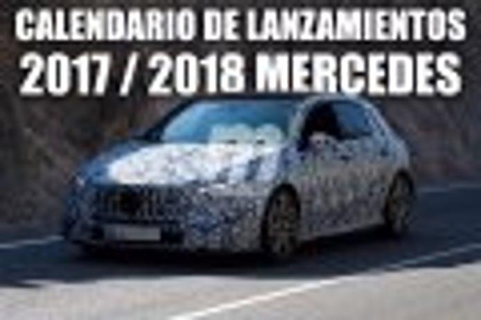 Exclusiva: todos los próximos lanzamientos de Mercedes al detalle