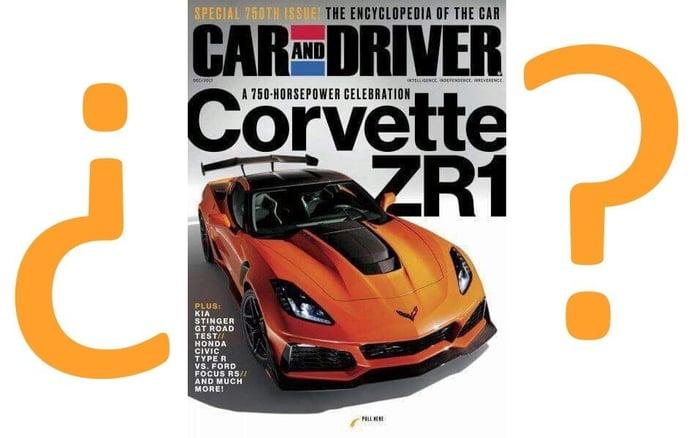 ¿Será este el nuevo Chevrolet Corvette ZR1 2019?