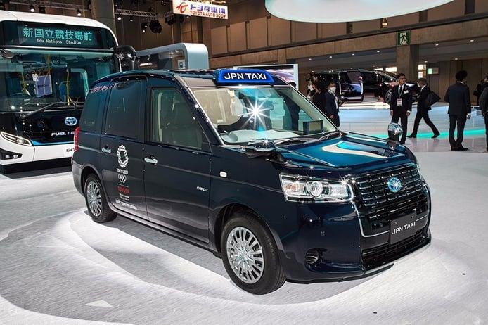 Toyota JPN Taxi: el nuevo taxi híbrido de Toyota se presenta en Tokio 2017