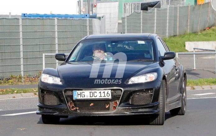 Mazda RX-9: misteriosa mula de Mazda cazada en Nürburgring
