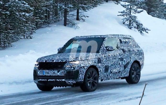Range Rover Coupé: las primeras imágenes de la nueva versión de 2 puertas