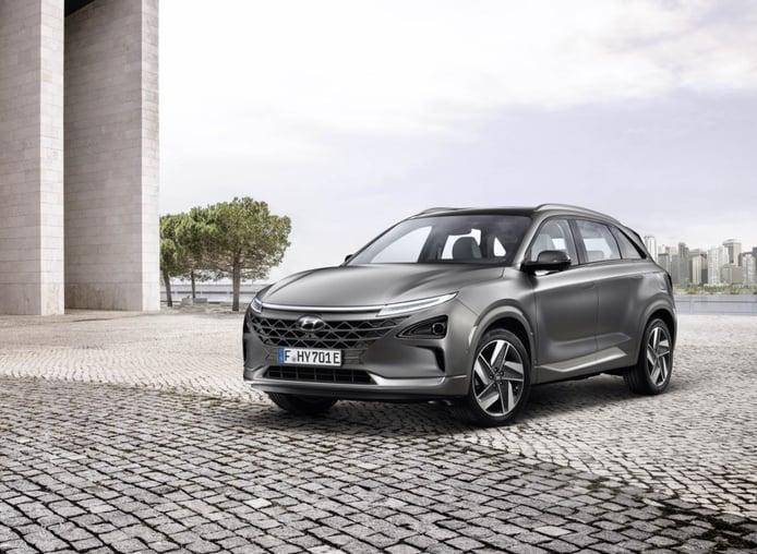 Nuevo Hyundai NEXO: todos sus detalles antes de debutar en el Salón de Ginebra 2018
