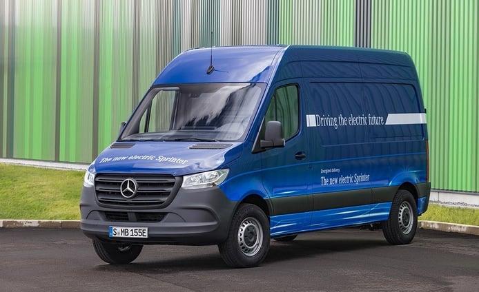 Mercedes eSprinter 2019: la tercera generación estrena versión eléctrica