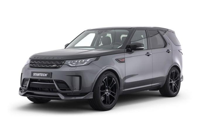 El nuevo Land Rover Discovery 5 aumenta su deportividad con STARTECH en el Salón de Ginebra 2018