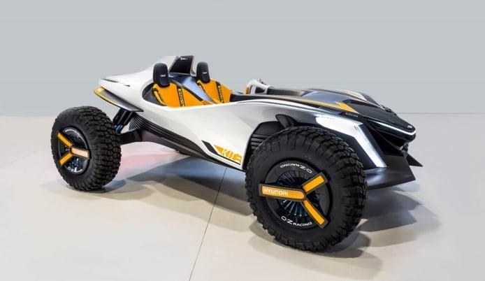 Hyundai Kite Concept, diversión off-road de cero emisiones presentado en el Salón de Ginebra