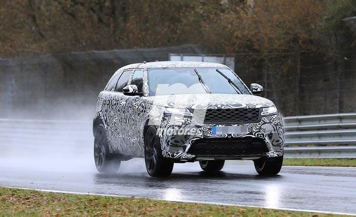 El Range Rover Velar SVR regresa a Nürburgring para seguir con su desarrollo
