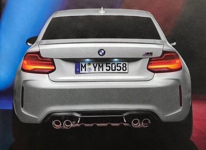 Nueva filtración del BMW M2 Competition confirma sus especificaciones