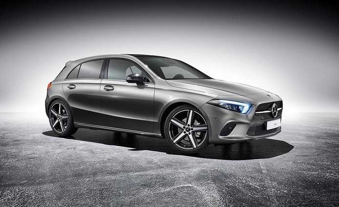 El nuevo Mercedes Clase A 2018 recibe equipamiento deportivo opcional