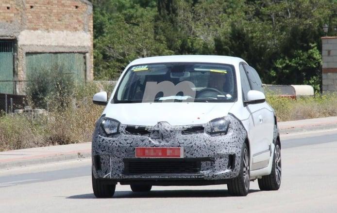 Cazamos el Renault Twingo facelift durante sus primeras pruebas