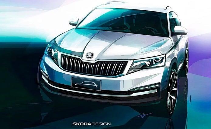 Skoda ofrece un adelanto de su nuevo SUV llamado Kamiq