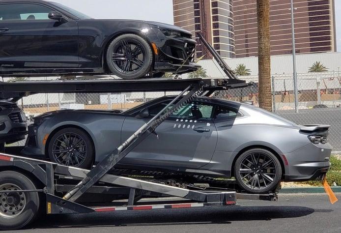 El nuevo Chevrolet Camaro ZL1 2019 facelift al descubierto