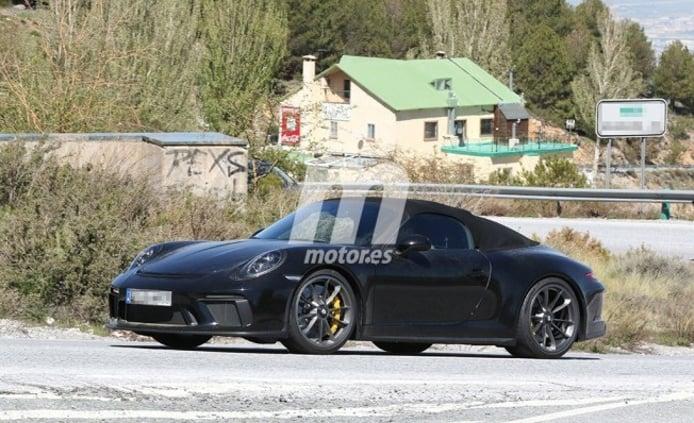 Porsche 911 Speedster 2018 - foto espía