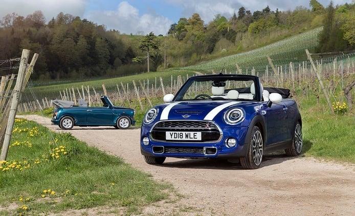 El MINI Cabrio celebra su 25 aniversario en el Reino Unido